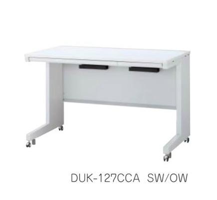 デュエナ 平机 デスク キャスター脚 引出し付き Kタイプ W1400×D600×H720mm /TO-DUK-146CCA □/□
