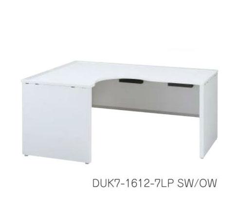 デュエナ 90°ワークテーブル パネル脚 Kタイプ /TO-DUK7-1812-7RP