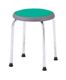 丸椅子/スツール【6脚セット】 ビニールレザー /TO-R-720L