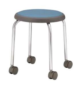 丸椅子/スツール【6脚セット】 ビニールレザー /TO-R-720KL