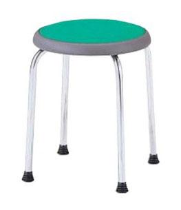 丸椅子/スツール【6脚セット】 布 /TO-R-720C