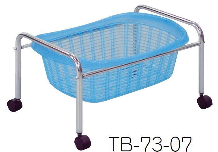 S型1段用脱衣カゴ ブルー /TO-TB-73-07