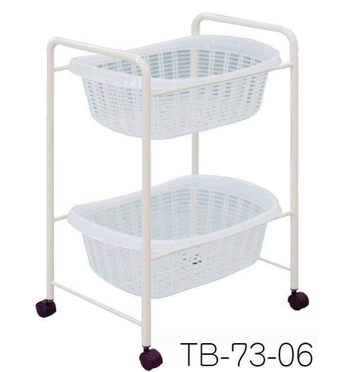 2段用脱衣カゴ ホワイト /TO-TB-73-06