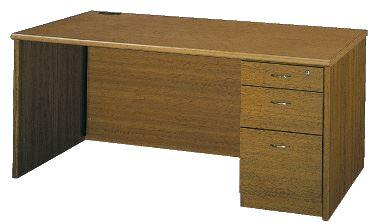木製片袖デスク VP16 幅1600mm /TO-VP11-DES