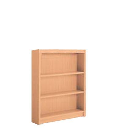 木製書架 直立 1連 片側 3段 高さ1175mm /TO-K-CED