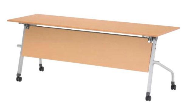 スタックテーブル MH型 幕板付 幅1800×奥行600mm /TO-MH-1860M