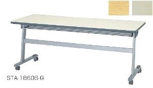 スタックテーブル STA型 幕板無 幅1500×奥行450mm /TO-STA-1545S-□