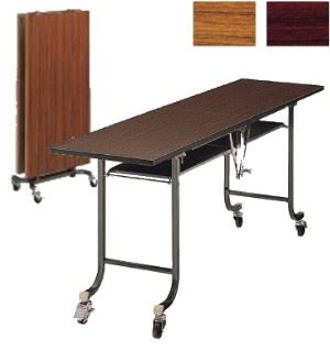 折りたたみテーブル フライト 中折式 ソフトエッジ 幅1800×奥行600mm /TO-DFT-1860SE