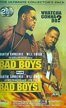 【中古】DVD海外版 バッドボーイズ バッドボーイズ 2 BAD BOYS PLUS BAD BOYS THE ULTIMATE COLLECTOR'S PACK Will Smith
