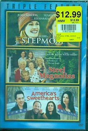 【中古】DVD海外版 Step Mom Steel Magnolias America's Sweethearts Triple Feature Julia Roberts