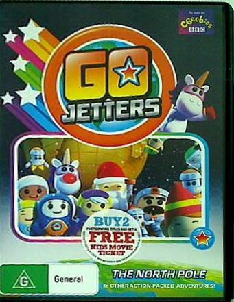 【中古】DVD海外版 ゴー,ジェッターズ Go Jetters The North Pole  NON-USA Format  PAL Region 4 Import Australia Ben Harper