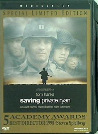 【送料440円~】 【中古】DVD海外版 プライベート・ライアン Saving Private Ryan Special Limited Edition Allison Lyon Segan