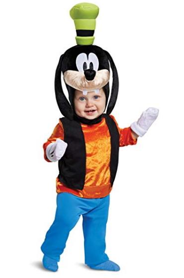 ベイビー キッズ キャラクター グーフィー赤ちゃん ベビー コスチューム 衣装 イベント 仮装 かわいい コスプレ Disney チャイルド 記念写真 baby フォト 記念日 誕生日 バースデー イベント ランド