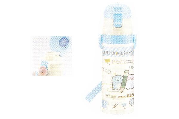Sumikko Gurashi Lock One-Push Stainless Bottle San-X Japan