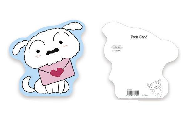 楽天市場日本製クレヨンしんちゃんダイカットポストカード