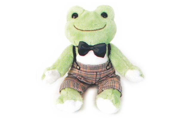 【かえるのピクルス】ぬいぐるみコスチューム【ズボン蝶ネクタイ】【pickles the frog】【カエル】【キッズ】【洋服】【ズボン】【ぬいぐるみ】【お人形】【人形】【児童】【子供】【幼児】【かわいい】
