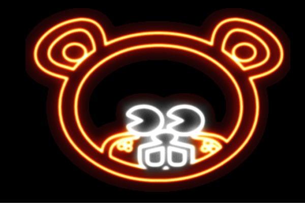 【ネオン】くま【クマ】【熊】【ベアー】【BEAR】【くまさん】【アニマル】【ネオンライト】【電飾】【LED】【ライト】【サイン】【neon】【看板】【イルミネーション】【インテリア】【店舗】【ネオンサイン】【アメリカン雑貨】【かわいい】【おしゃれ】