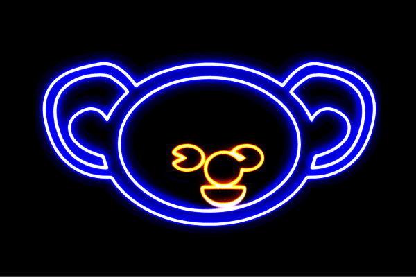 【ネオン】コアラ【こあら】【KOALA】【動物】【動物園】【アニマル】【ネオンライト】【電飾】【LED】【ライト】【サイン】【neon】【看板】【イルミネーション】【インテリア】【店舗】【ネオンサイン】【アメリカン雑貨】【かわいい】【おしゃれ】