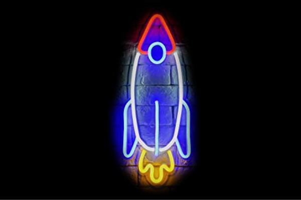 【ネオン】ロケット【ろけっと】【ジェット機】【乗り物】【イラスト】【ネオンライト】【電飾】【LED】【ライト】【サイン】【neon】【看板】【イルミネーション】【インテリア】【店舗】【ネオンサイン】【アメリカン雑貨】【かわいい】【おしゃれ】
