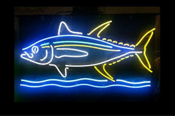 【ネオン】フィッシュ【魚】【さかな】【マグロ】【カツオ】【海】【飲食店】【BAR】【バー】【カフェ】【ネオンライト】【電飾】【LED】【ライト】【サイン】【neon】【看板】【イルミネーション】【インテリア】【店舗】【ネオンサイン】【アメリカン雑貨】【おしゃれ】