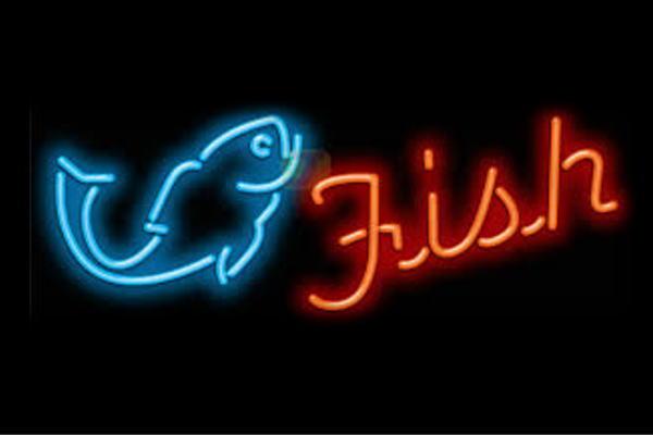 【ネオン】Fish【魚】【フィッシュ】【さかな】【海】【飲食店】【BAR】【バー】【カフェ】【ネオンライト】【電飾】【LED】【ライト】【サイン】【neon】【看板】【イルミネーション】【インテリア】【店舗】【ネオンサイン】【アメリカン雑貨】【おしゃれ】