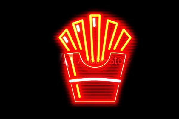 【ネオン】ポテト【フライ】【ポテト】【ポテトフライ】【ぽてと】【ファーストフード】【ネオンライト】【電飾】【LED】【ライト】【サイン】【neon】【看板】【イルミネーション】【インテリア】【店舗】【ネオンサイン】【アメリカン雑貨】【かわいい】【おしゃれ】