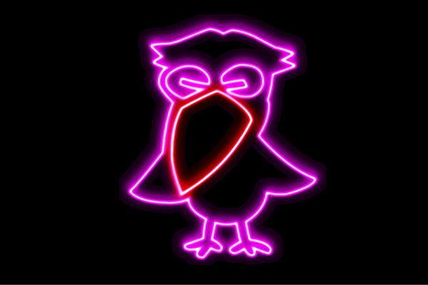 【ネオン】カラス【からす】【烏】【トリ】【鳥】【とり】【動物】【アニマル】【ネオンライト】【電飾】【LED】【ライト】【サイン】【neon】【看板】【イルミネーション】【インテリア】【店舗】【ネオンサイン】【アメリカン雑貨】【かわいい】【おしゃれ】
