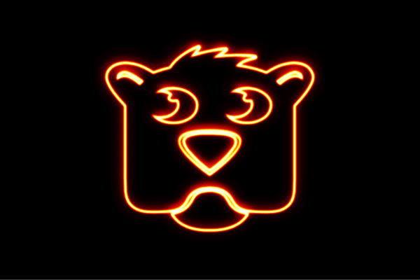 【ネオン】子犬フェイス【犬】【ドッグ】【イヌ】【いぬ】【子犬】【動物】【アニマル】【ネオンライト】【電飾】【LED】【ライト】【サイン】【neon】【看板】【イルミネーション】【インテリア】【店舗】【ネオンサイン】【アメリカン雑貨】【かわいい】【おしゃれ】