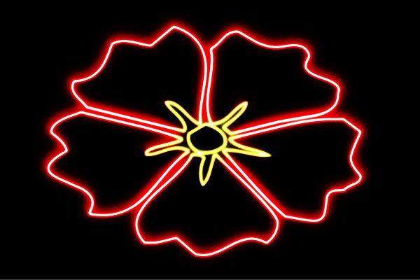 【ネオン】ハイビスカス【ハイビ】【花】【はな】【ハナ】【フラワー】【FLOWER】【ネオンライト】【電飾】【LED】【ライト】【サイン】【neon】【看板】【イルミネーション】【インテリア】【店舗】【ネオンサイン】【アメリカン雑貨】【かわいい】【おしゃれ】