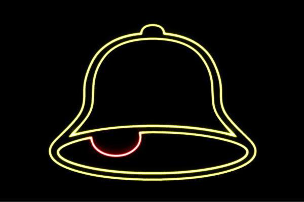 【ネオン】ベル【べる】【鐘】【かね】【教会】【式場】【結婚】【ネオンライト】【電飾】【LED】【ライト】【サイン】【neon】【看板】【イルミネーション】【インテリア】【店舗】【ネオンサイン】【アメリカン雑貨】【おしゃれ】【かわいい】