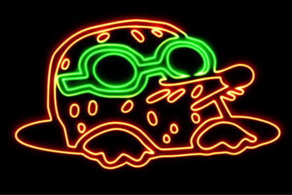 【ネオン】もぐら【モグラ】【土竜】【もぐら叩き】【動物】【アニマル】【ネオンライト】【電飾】【LED】【ライト】【サイン】【neon】【看板】【イルミネーション】【インテリア】【店舗】【ネオンサイン】【アメリカン雑貨】【かわいい】【おしゃれ】