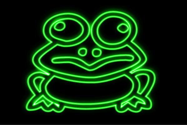 【ネオン】カエル全身【蛙】【かえる】【カエル】【フロッグ】【Frog】【動物】【アニマル】【ネオンライト】【電飾】【LED】【ライト】【サイン】【neon】【看板】【イルミネーション】【インテリア】【店舗】【ネオンサイン】【アメリカン雑貨】【かわいい】