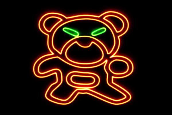【ネオン】くまのぬいぐるみ【くま】【熊】【クマ】【動物】【アニマル】【ネオンライト】【電飾】【LED】【ライト】【サイン】【neon】【看板】【イルミネーション】【インテリア】【店舗】【ネオンサイン】【アメリカン雑貨】【おしゃれ】【かわいい】