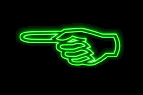 【ネオン】さし指【手】【て】【ゆび】【フィンガー】【手のひら】【イラスト】【ネオンライト】【電飾】【LED】【ライト】【サイン】【neon】【看板】【イルミネーション】【インテリア】【店舗】【ネオンサイン】【アメリカン雑貨】【かわいい】