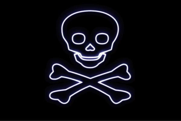 【ネオン】海賊旗【海賊】【旗】【かいぞく】【髑髏】【フラッグ】【フィンガー】【海】【航海】【イラスト】【ネオンライト】【電飾】【LED】【ライト】【サイン】【neon】【看板】【イルミネーション】【インテリア】【店舗】【ネオンサイン】【アメリカン雑貨】