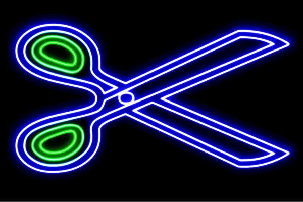 【ネオン】はさみ【2】【ハサミ】【ヘアーサロン】【美容室】【美容院】【ヘアーカット】【バーバー】【床屋】【ネオンライト】【電飾】【LED】【ライト】【サイン】【neon】【看板】【イルミネーション】【インテリア】【店舗】【ネオンサイン】【アメリカン雑貨】