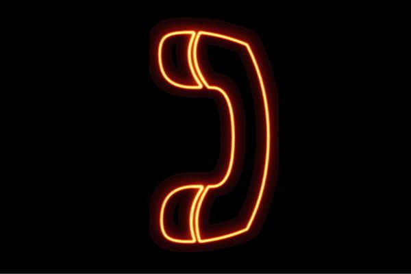 【ネオン】電話【2】【受話器】【でんわ】【イラスト】【アイコン】【テレフォン】【ネオンライト】【電飾】【LED】【ライト】【サイン】【neon】【看板】【イルミネーション】【インテリア】【店舗】【ネオンサイン】【アメリカン雑貨】【かわいい】【おしゃれ】