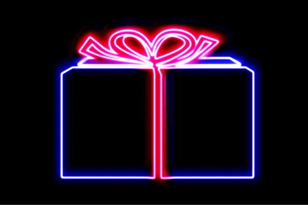 【ネオン】プレゼント【リボン】【アイコン】【マーク】【記号】【ラッピング】【ネオンライト】【電飾】【LED】【ライト】【サイン】【neon】【看板】【イルミネーション】【インテリア】【店舗】【ネオンサイン】【アメリカン雑貨】【かわいい】【おしゃれ】