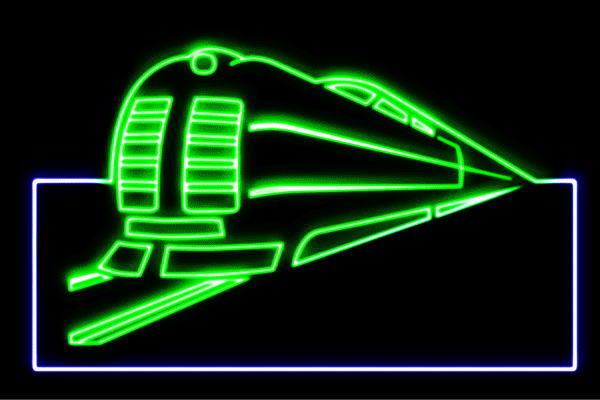 【ネオン】電車【トレイン】【でんしゃ】【乗り物】【列車】【鉄道】【アイコン】【イラスト】【ネオンライト】【電飾】【LED】【ライト】【サイン】【neon】【看板】【イルミネーション】【インテリア】【店舗】【ネオンサイン】【アメリカン雑貨】【おしゃれ】【かわいい】