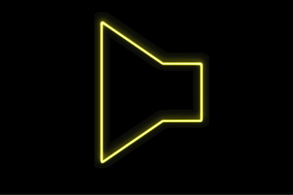 【ネオン】スピーカー【すぴーかー】【拡声器】【音量】【ボリューム】【イラスト】【アイコン】【ネオンライト】【電飾】【LED】【ライト】【サイン】【neon】【看板】【イルミネーション】【インテリア】【店舗】【ネオンサイン】【アメリカン雑貨】【おしゃれ】