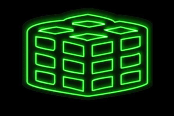 【ネオン】キューブ【きゅーぶ】【ルービックキューブ】【四角】【イラスト】【アイコン】【ネオンライト】【電飾】【LED】【ライト】【サイン】【neon】【看板】【イルミネーション】【インテリア】【店舗】【ネオンサイン】【アメリカン雑貨】【おしゃれ】【かわいい】