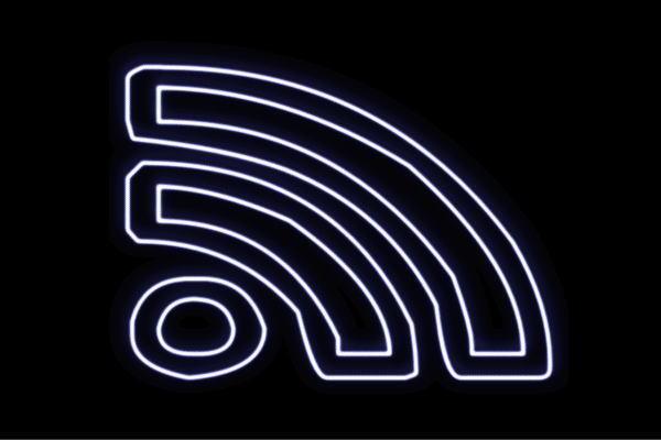 【ネオン】WiFi【Wi-Fi】【ワイファイ】【電波】【インターネット】【接続】【アイコン】【イラスト】【ネオンライト】【電飾】【LED】【ライト】【サイン】【neon】【看板】【イルミネーション】【インテリア】【店舗】【ネオンサイン】【アメリカン雑貨】【かわいい】
