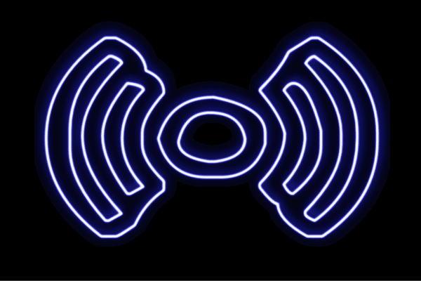 【ネオン】電波【でんぱ】【ワイファイ】【無線】【インターネット】【接続】【アイコン】【イラスト】【ネオンライト】【電飾】【LED】【ライト】【サイン】【neon】【看板】【イルミネーション】【インテリア】【店舗】【ネオンサイン】【アメリカン雑貨】【かわいい】