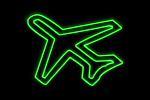 【ネオン】飛行機【2】【ひこうき】【airplane】【イラスト】【アイコン】【エアライン】【乗り物】【ネオンライト】【電飾】【LED】【ライト】【サイン】【neon】【看板】【イルミネーション】【インテリア】【店舗】【ネオンサイン】【アメリカン雑貨】【かわいい】