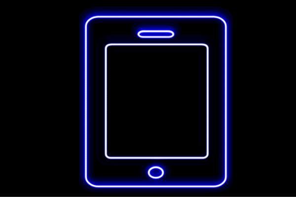 【ネオン】タブレット【携帯】【画面】【ディスプレイ】【スマホ】【スマートフォン】【アイコン】【ネオンライト】【電飾】【LED】【ライト】【サイン】【neon】【看板】【イルミネーション】【インテリア】【店舗】【ネオンサイン】【アメリカン雑貨】【おしゃれ】