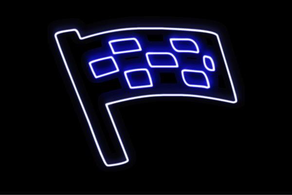 【ネオン】フラッグ【5】【はた】【ハタ】【旗】【アイコン】【マーク】【ネオンライト】【電飾】【LED】【ライト】【サイン】【neon】【看板】【イルミネーション】【インテリア】【店舗】【ネオンサイン】【アメリカン雑貨】【かわいい】