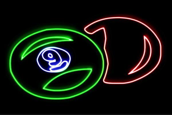 【ネオン】ビリヤード【Billiards】【球】【ボール】【スポーツ】【アイコン】【イラスト】【ネオンライト】【電飾】【LED】【ライト】【サイン】【neon】【看板】【イルミネーション】【インテリア】【店舗】【ネオンサイン】【アメリカン雑貨】【おしゃれ】【かわいい】