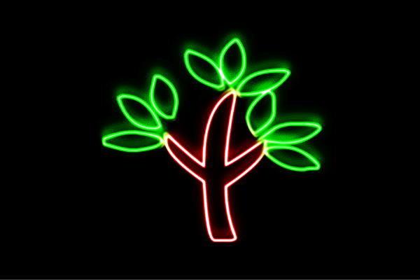 【ネオン】ツリー【32】【リーフ】【葉っぱ】【tree】【木】【き】【森】【山】【アイコン】【ネオンライト】【電飾】【LED】【ライト】【サイン】【neon】【看板】【イルミネーション】【インテリア】【店舗】【ネオンサイン】【アメリカン雑貨】【おしゃれ】