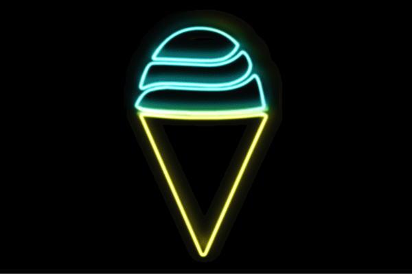 【ネオン】ソフトクリーム【6】【ICE CREAM】【アイスクリーム】【アイス】【イラスト】【ネオンライト】【電飾】【LED】【ライト】【サイン】【neon】【看板】【イルミネーション】【インテリア】【店舗】【ネオンサイン】【アメリカン雑貨】【おしゃれ】【かわいい】