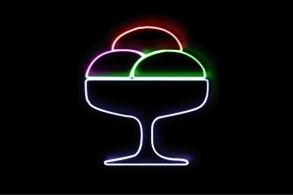 【ネオン】アイスクリーム【23】【ソフトクリーム】【ICE CREAM】【アイス】【アイコン】【ネオンライト】【電飾】【LED】【ライト】【サイン】【neon】【看板】【イルミネーション】【インテリア】【店舗】【ネオンサイン】【アメリカン雑貨】【おしゃれ】【かわいい】
